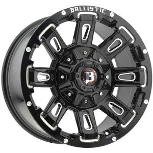 Ballistic Ravage 958 22X9.5 Gloss Black