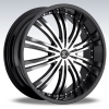 Black Diamond Number 1 22X8.5 Black