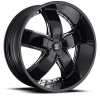 Black Diamond Number 18 26X9.5 Black