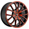 Blaque Diamond Spyder Rust - 24 Inch Wheels