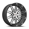 Blaque Diamond BD-2 22X9 Matte Graphite with Machined Face