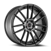 Blaque Diamond BD-4 20X8.5 Matte Graphite with Machined Face