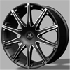 Blaque Diamond Dust - 24 Inch Wheels