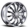 Borghini B19 17X7.5 Chrome