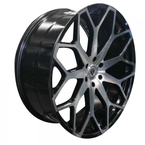 Borghini B28 28X10 Black Machined