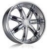 Borghini B7S 18X7.5 Chrome