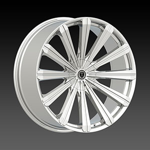 Borghini BW B18 28 X 10 Inch Chrome Wheel