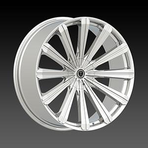 Borghini BW B18 28 X 10 Inch Chrome Wheel