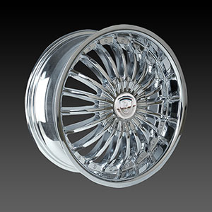 Borghini BW 190 Chrome Wheel Packages