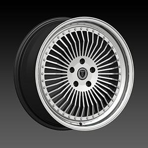 Borghini BW B21 Black Machined Wheel Packages