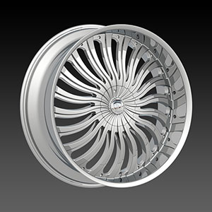Borghini BW B24 Chrome Wheel Packages