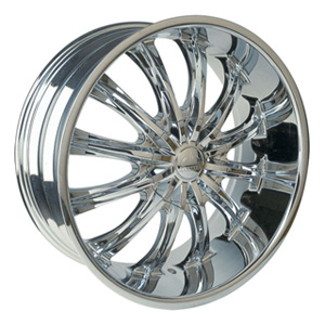 Borghini BW B15 28 X 10 Inch Chrome Wheel