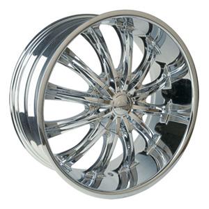 Borghini BW B15 28 X 10 Inch Chrome Wheel