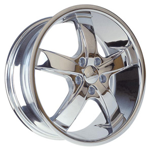 Borghini BW B5S-A Chrome Wheel Packages