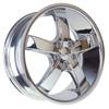 Borghini BW B5S-A 18 X 7.5 Inch Chrome Wheel