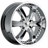 Cattivo 726 Chrome 22 X 9.5 Inch Wheels