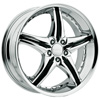 Cattivo 730 Chrome 20 X 9.5 Inch Wheels