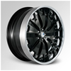 Cor Aristo Black 22 X 12 Inch Wheels