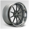 Cor Cipher Gray Face with Chrome Lip 20 X 8.5 Inch Wheels