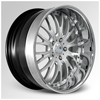 Cor Colonial Machined with Chrome Lip 19 X 8.5 Inch Wheels