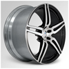 Cor F1 Brava Machined 20 X 8.5 Inch Wheels