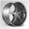 Cor Fossil Machined 24 X 10 Inch Wheels