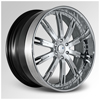 Cor LLardo Chrome 24 X 10 Inch Wheels