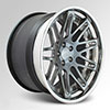 Cor Nove Brushed Titanium Clear 20 X 8.5 Inch Wheels