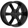 Cratus CR007 24X9.5 Gloss Black