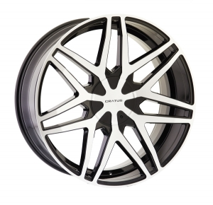 Cratus CR009 24X9.5 Gloss Black Machined