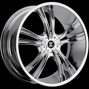 Crave Number 2 Chrome 17 X 7.5 Inch Wheels