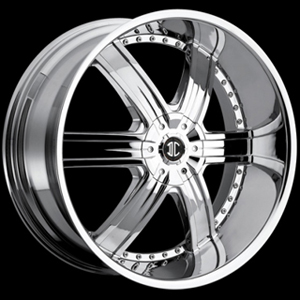 Crave Number 4 Chrome 28 X 9.5 Inch Wheels