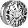 Dcenti DW 706 24X10 Chrome