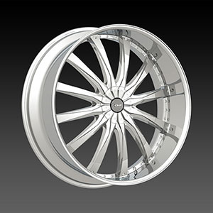 DCenti DW 8 Chrome 28 X 10 Inch Wheel