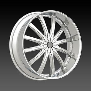 DCenti DW 8 Chrome 28 X 10 Inch Wheel