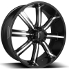 Dcenti DW 903 28X10 Black Machined