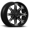 Dcenti DW 920 17X9 Black Machine