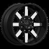 Dcenti DW 960 22X10 Black Machine