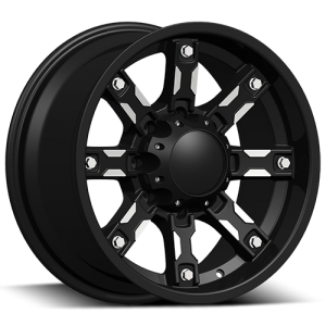 Dcenti DW 970 18X9 Black Machine
