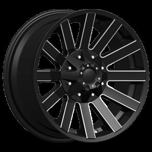 Dcenti DW 980 16X8 Black