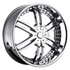 Strada Denaro Chrome 24 X 9 Inch Wheels