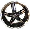 Devino Flawless DV762 Gloss Black with Full Machined Lip Wheel Packages