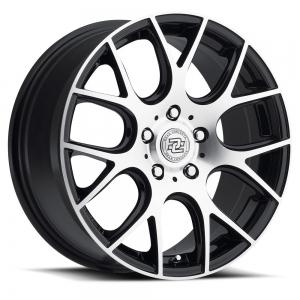 Drag Concepts R15 16X7 Black Machined