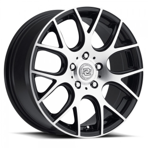 Drag Concepts R15 17X7.5 Black Machined