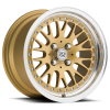 Drag Concepts R17 16X9 Gold Machined