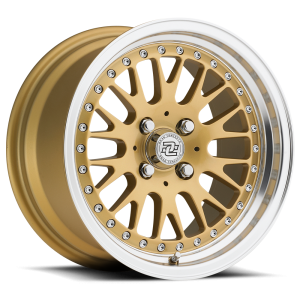 Drag Concepts R17 Gold Machined