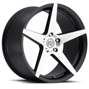 Drag Concepts R18 22X10.5 Black Machined
