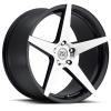 Drag Concepts R18 22X10.5 Black Machined