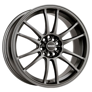 Drag DR 38 Charcoal Gray 17 X 7 Inch Wheels