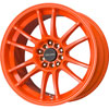 Drag DR 38 Neon Orange 17 X 9 Inch Wheels